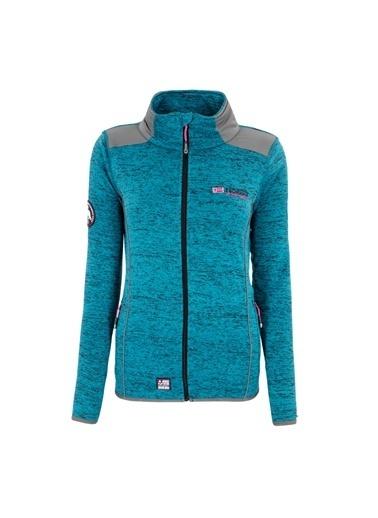 Norway Geographical Sweatshirt Mavi